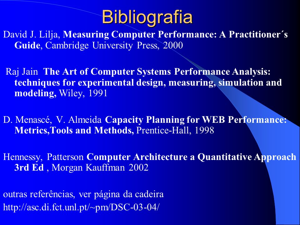Bibliografia David J.