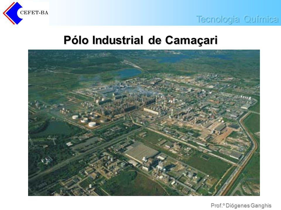 Prof.º Diógenes Ganghis Pólo Industrial de Camaçari