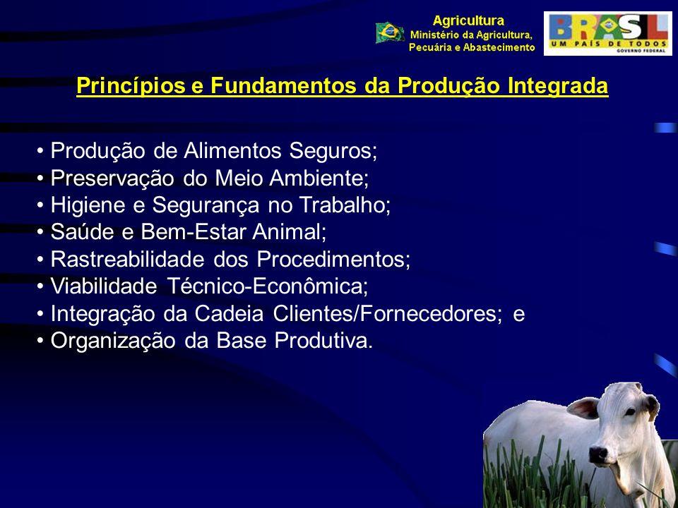 Produção de Alimentos Seguros; Preservação do Meio Ambiente; Higiene e Segurança no Trabalho; Saúde e Bem-Estar Animal; Rastreabilidade dos Procedimen