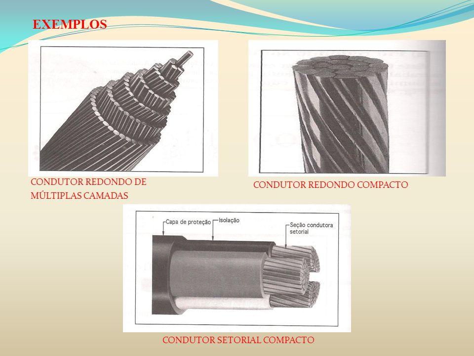 5) Condutor flexível Cabos de média tensão -Encordoamento redondo compacto para todas as seções de cabos.