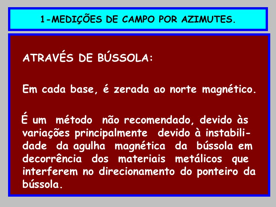 16 - CONTINUAÇÃO DA PLANILHA SENO AZIMUTE X DIST.DETALHE COORD.