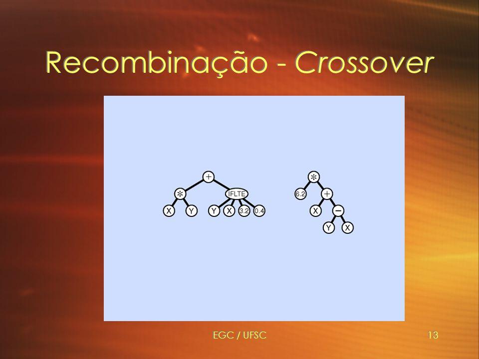 EGC / UFSC13 Recombinação - Crossover