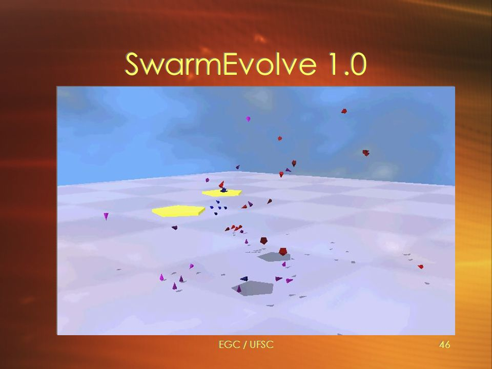 EGC / UFSC46 SwarmEvolve 1.0