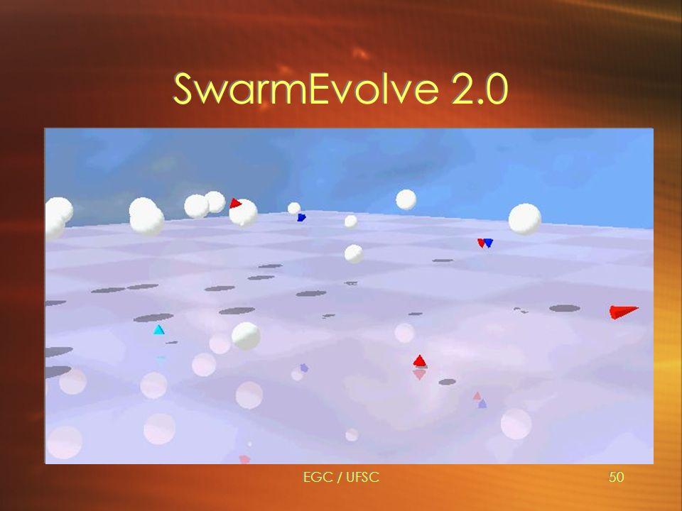 EGC / UFSC50 SwarmEvolve 2.0