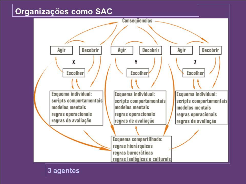 SOJA Organizações como SAC 3 agentes