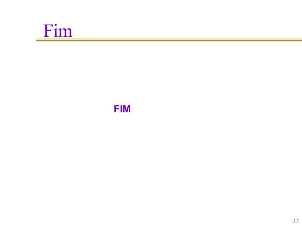 Fim 33 FIM