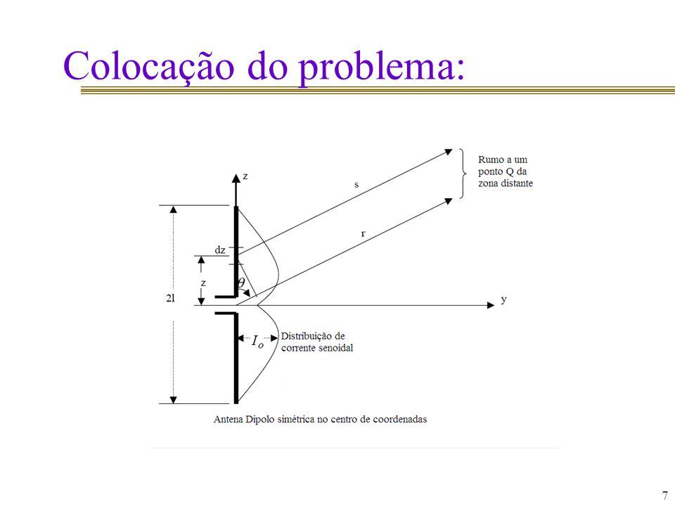 Colocação do problema: 7