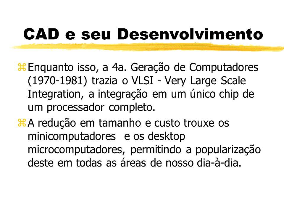 CAD e seu Desenvolvimento zEnquanto isso, a 4a.