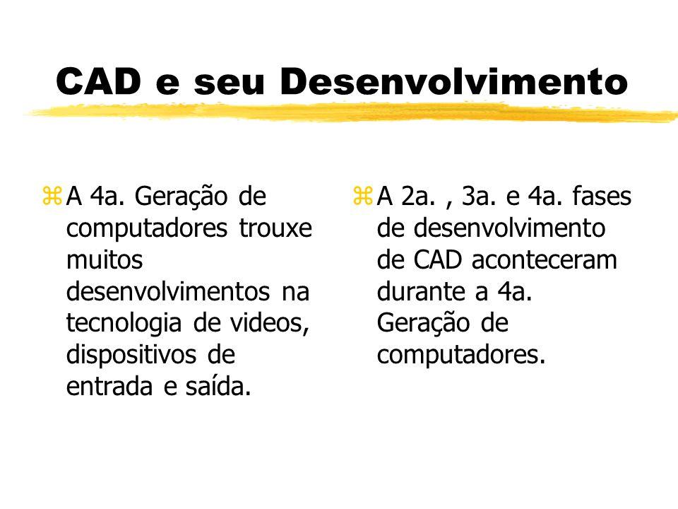 CAD e seu Desenvolvimento zA 4a.