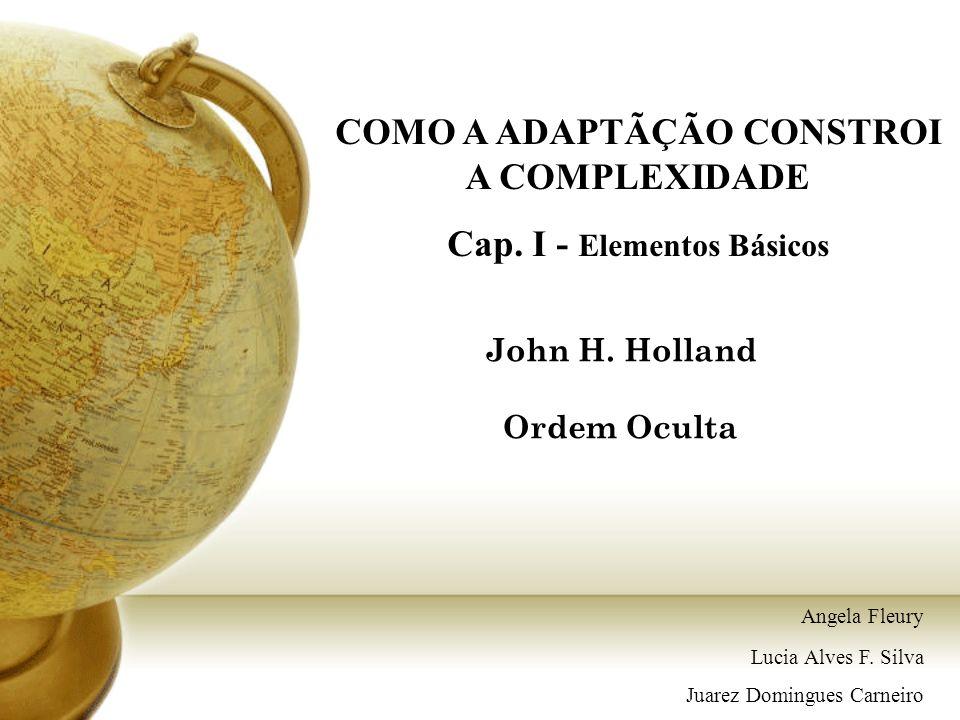 John H. Holland Ordem Oculta COMO A ADAPTÃÇÃO CONSTROI A COMPLEXIDADE Cap. I - Elementos Básicos Angela Fleury Lucia Alves F. Silva Juarez Domingues C