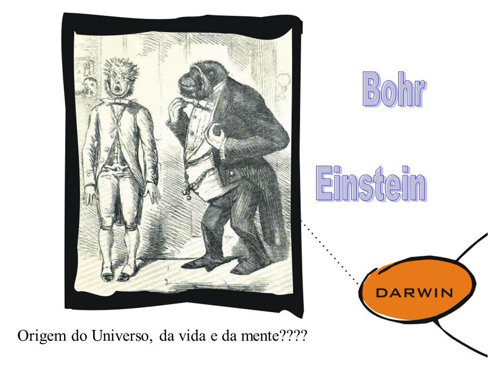 Origem do Universo, da vida e da mente????