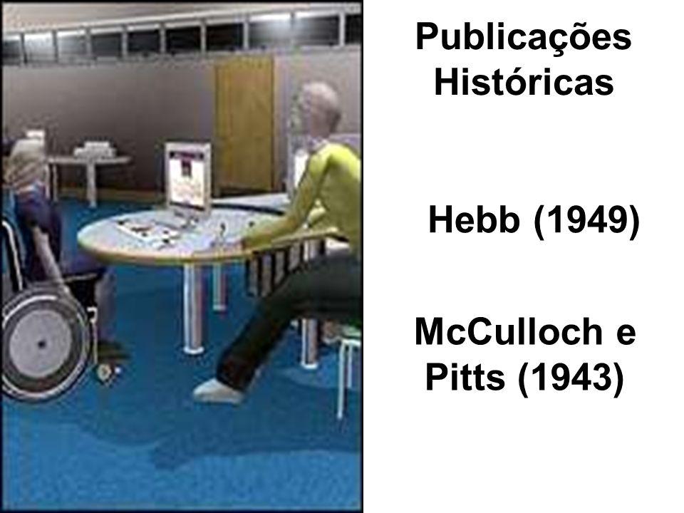 Publicações Históricas McCulloch e Pitts (1943) Hebb (1949)