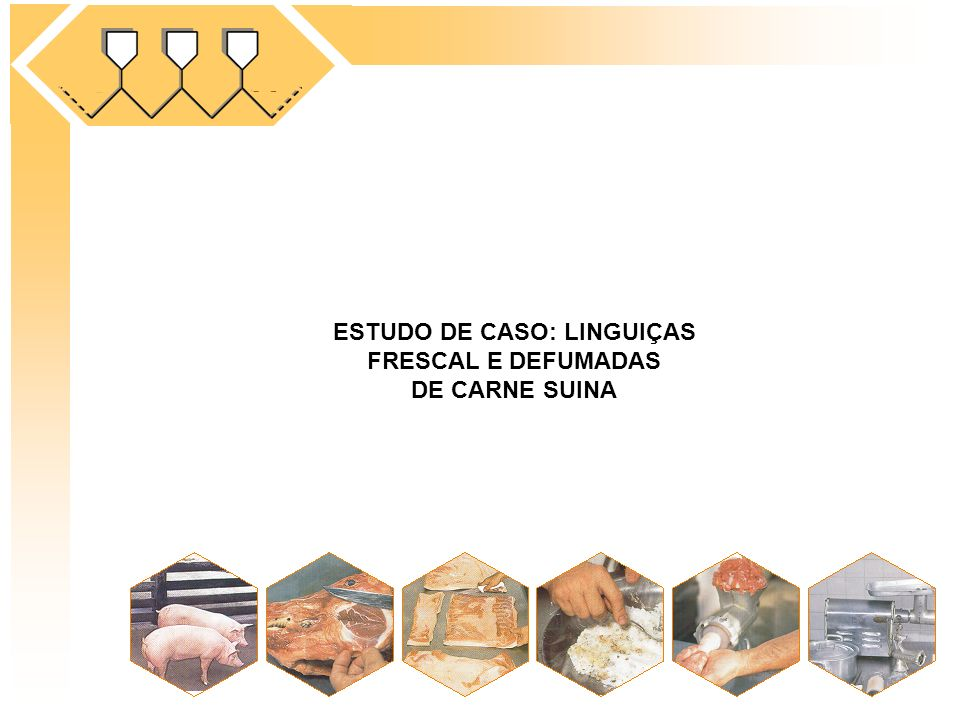 ESTUDO DE CASO: LINGUIÇAS FRESCAL E DEFUMADAS DE CARNE SUINA