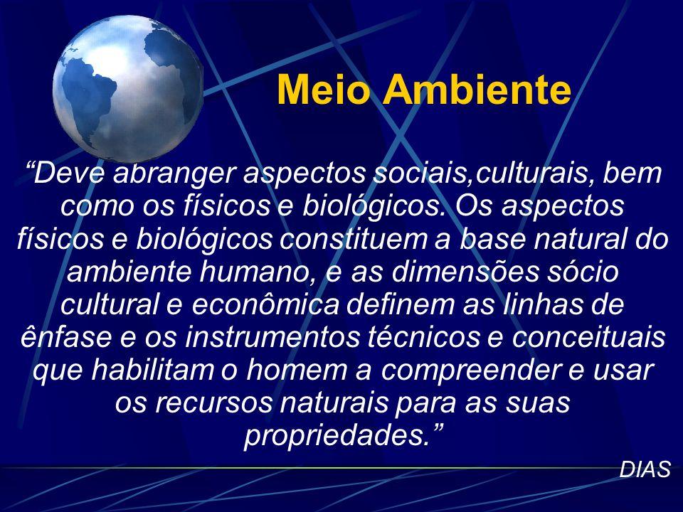 2. Conhecendo o Meio Ambiente Cognição Ambiental GAIA