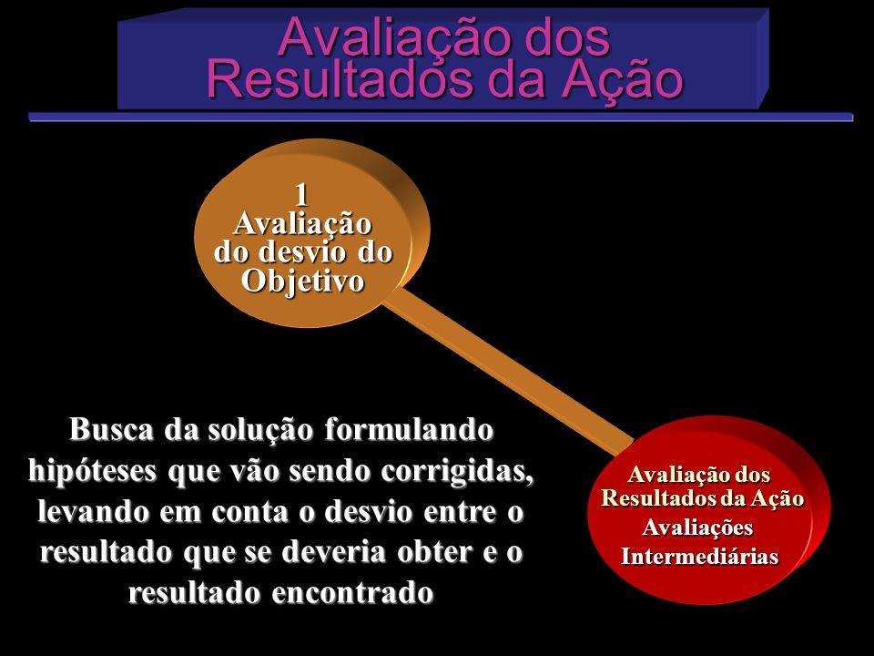 Avaliação dos Resultados da Ação Avaliação dos Resultados da Ação 1Avaliação do desvio do Objetivo Avaliação dos Resultados da Ação AvaliaçõesIntermed