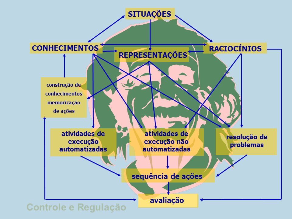 O raciocínio é um quadro organizado de inferências que terminam numa última inferência: a conclusão ou resultado