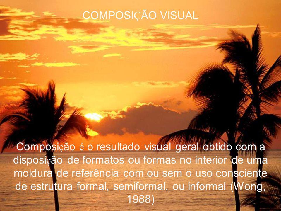O segredo de um trabalho bem feito está na escolha da linguagem visual adequada Chegamos às linguagens visuais