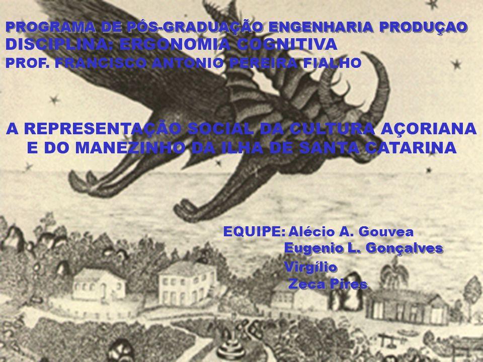 PROGRAMA DE PÓS-GRADUAÇÃO ENGENHARIA PRODUÇAO DISCIPLINA: ERGONOMIA COGNITIVA PROF.