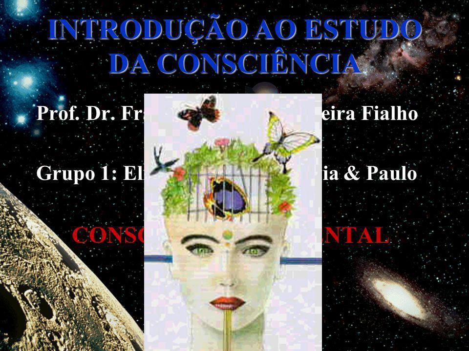 INTRODUÇÃO AO ESTUDO DA CONSCIÊNCIA Prof. Dr. Francisco Antonio Pereira Fialho Grupo 1: Elizabete, Magda, Silvia & Paulo CONSCIÊNCIA AMBIENTAL CAPRA F