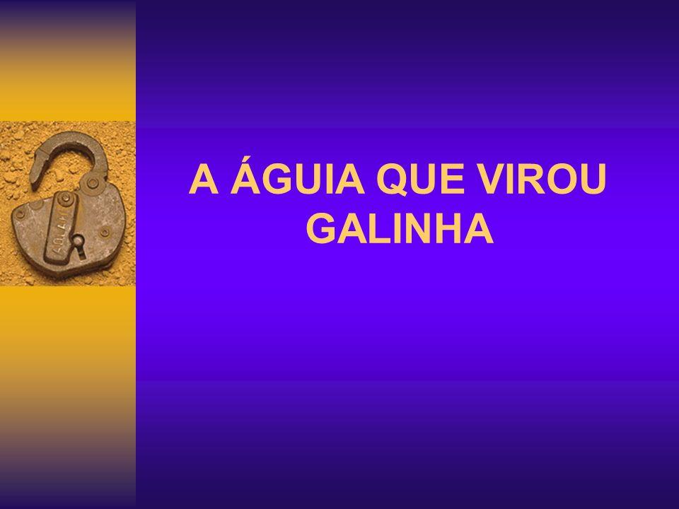 A ÁGUIA QUE VIROU GALINHA