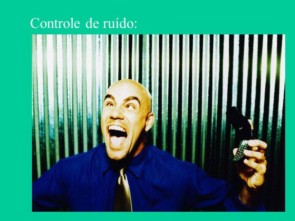 Controle de ruído:
