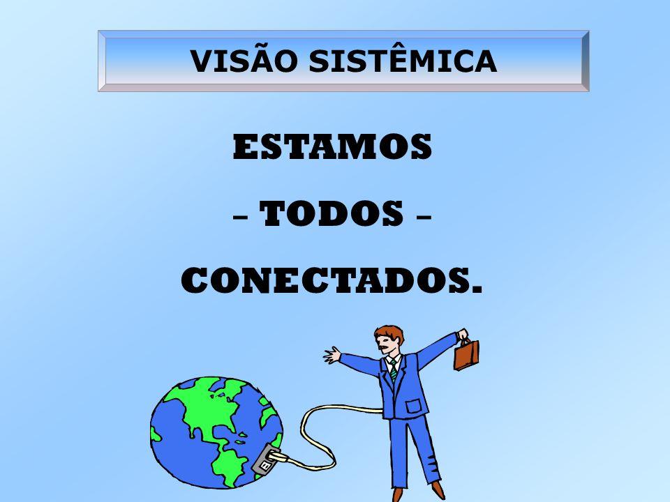 VISÃO SISTÊMICA ESTAMOS – TODOS – CONECTADOS.