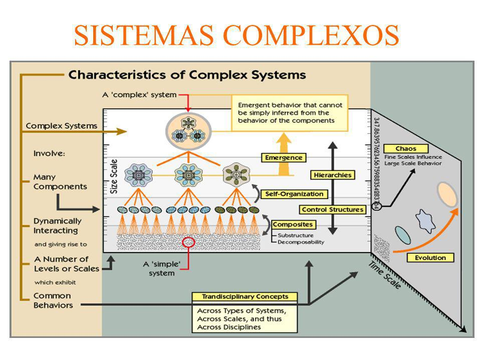 SISTEMAS COMPLEXOS