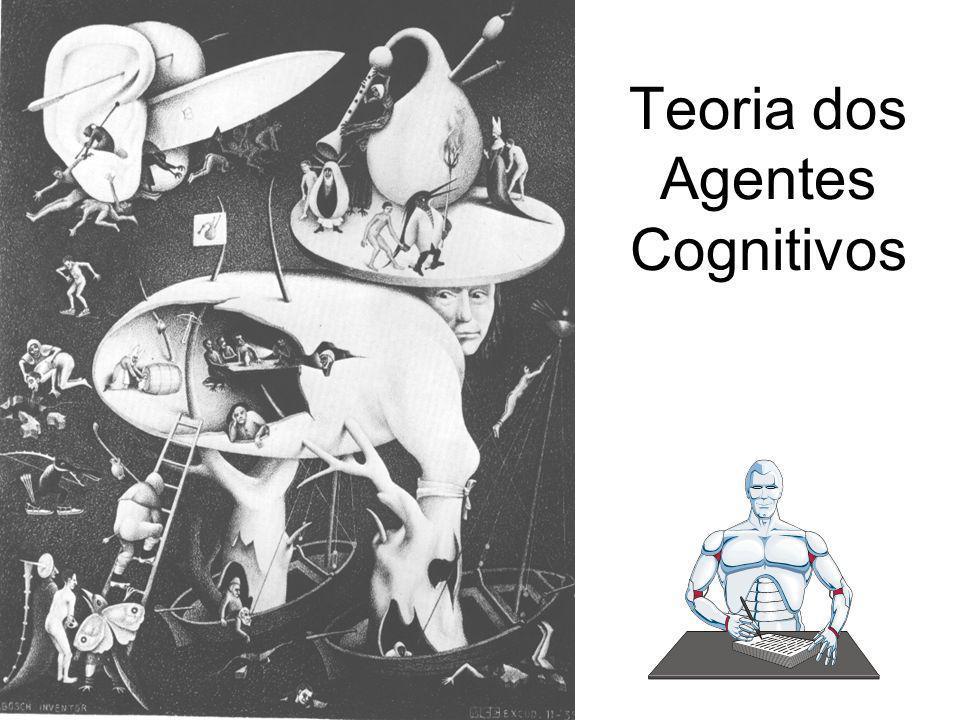 Teoria dos Agentes Cognitivos Pesquisa de agentes autônomos IA baseada em comportamento em oposição a IA baseada em conhecimento IA bottom-up versus I