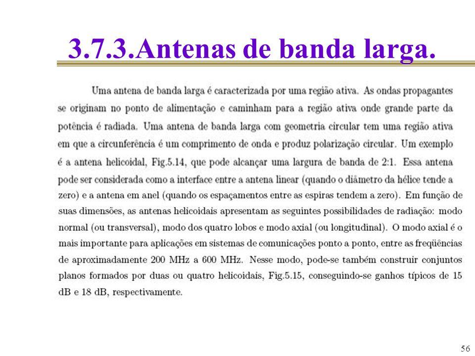 56 3.7.3.Antenas de banda larga.