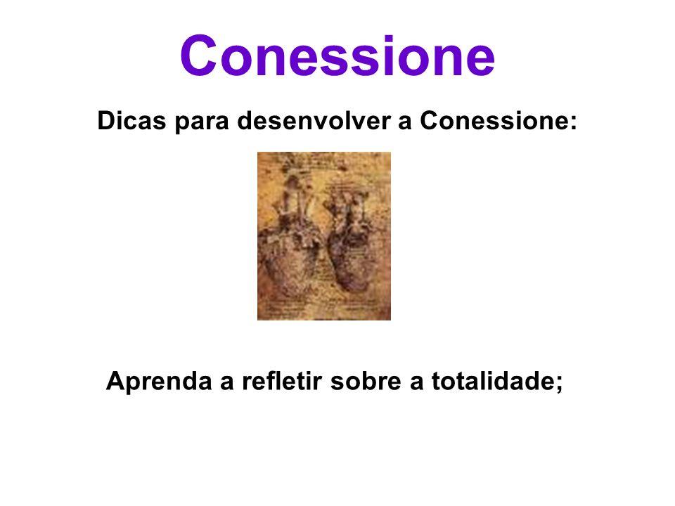 Conessione Dicas para desenvolver a Conessione: Aprenda a refletir sobre a totalidade;