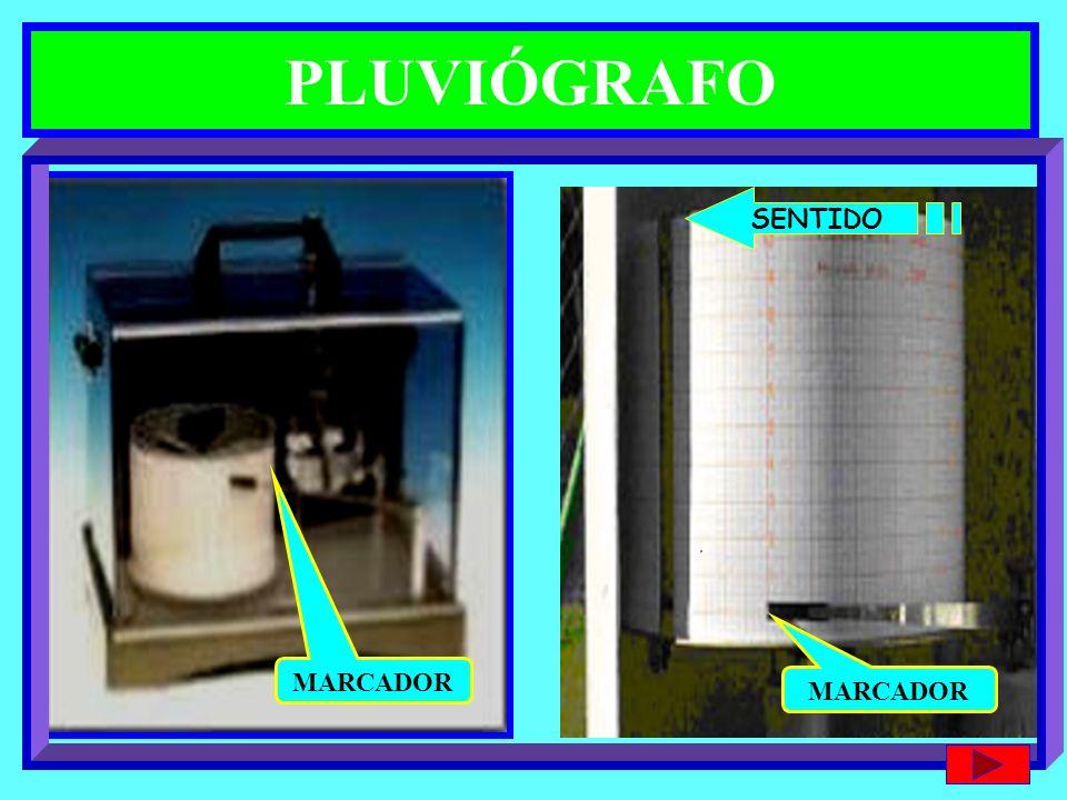 PLUVIÓGRAFO MARCADOR SENTIDO MARCADOR