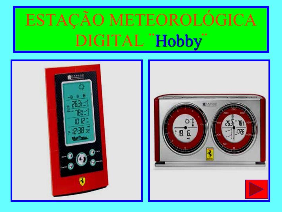 - 1-POSTO PLUVIOMÉTRICO (PLUVIÔMETRO E PLUVIÓGRAFO) -2-POSTO TERMOMÉTRICO ( ABRIGO METEOROLÓGICO ) Psicrômetro ( manual ou digital ); Termômetro de máxima e mínima (analógico ou digital); Termômetro de bulbo com alcool (analógico); -3-EVAPORÍMETRO ¨ TANQUE CLASSE A ¨ -4-ANEMÔMETRO E ANEMÓGRAFO (MECÂNICO OU DIGITAL) -5-RADIÔMETRO (MEDIDOR DA RADIAÇÃO SOLAR) ESTAÇÃO METEOROLÓGICA