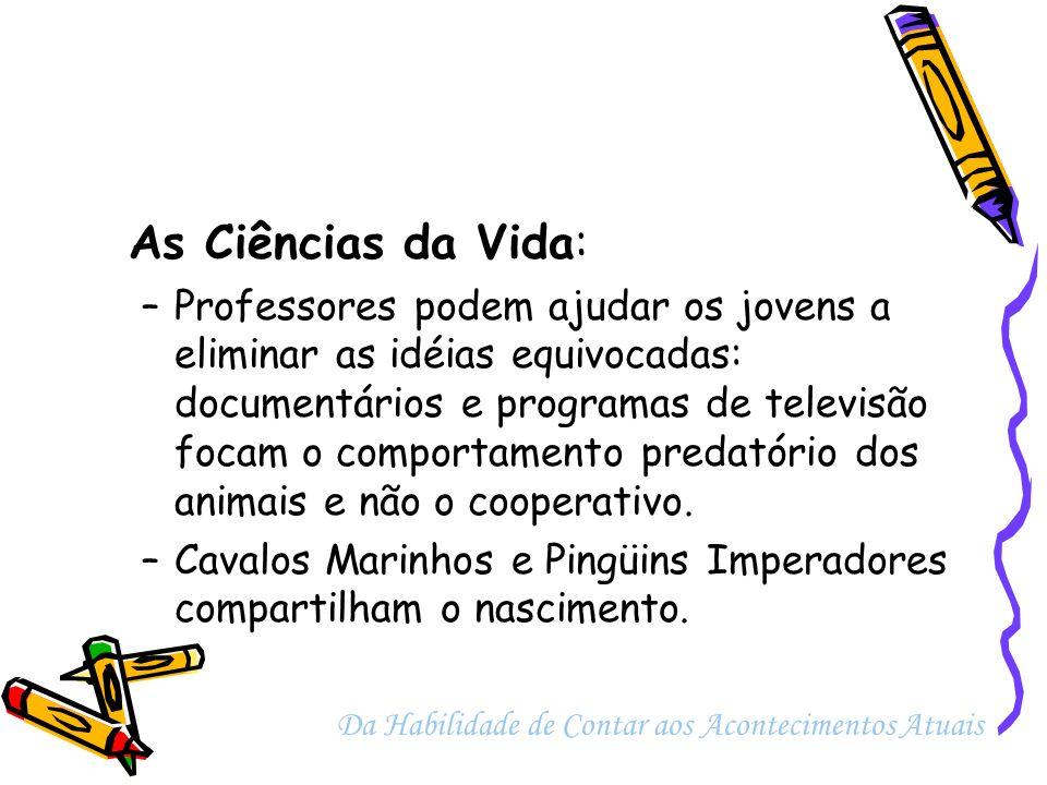 As Ciências da Vida: –Estudo dos Chimpanzés Bonobo ajuda na aprendizagem da sexualidade humana.