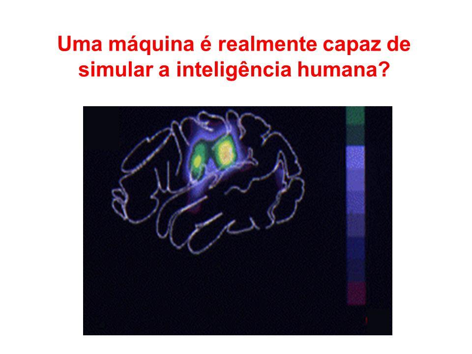 Uma máquina é realmente capaz de simular a inteligência humana?
