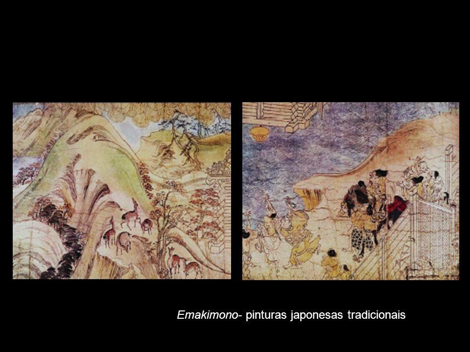 Emakimono- pinturas japonesas tradicionais