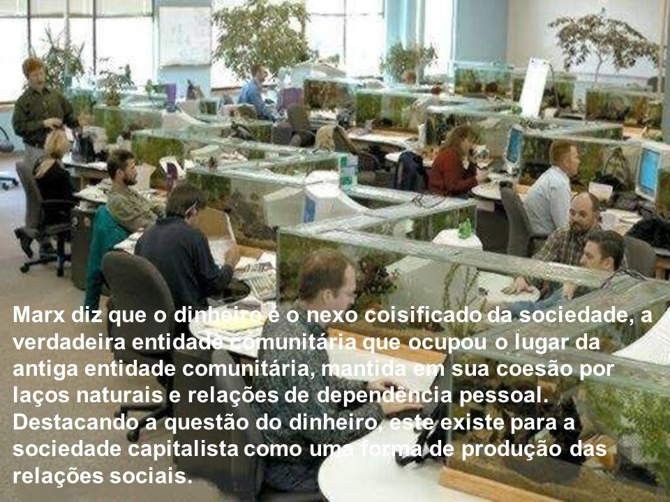 O fetichismo da mercadoria é a lógica do significante - é o modelo de lógica do significante como ideologia - que gera uma estrutura ideológica sob a