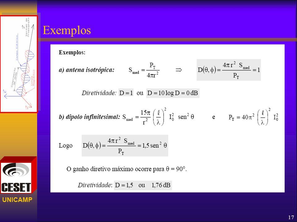 UNICAMP Exemplos 17