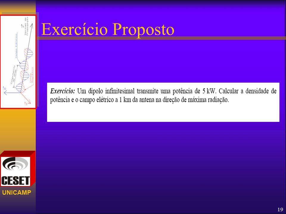 UNICAMP Exercício Proposto 19