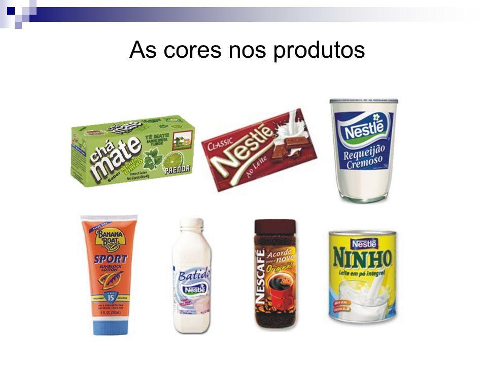 As cores nas grandes marcas A psicologia das cores são utilizadas atualmente pelas grandes empresas. Coca ColaMc'Donalds