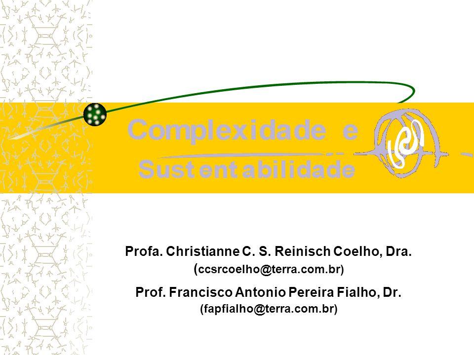 Profa. Christianne C. S. Reinisch Coelho, Dra. ( ccsrcoelho@terra.com.br) Prof. Francisco Antonio Pereira Fialho, Dr. (fapfialho@terra.com.br)