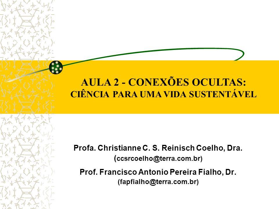Profa. Christianne C. S. Reinisch Coelho, Dra. ( ccsrcoelho@terra.com.br) Prof. Francisco Antonio Pereira Fialho, Dr. (fapfialho@terra.com.br) AULA 2