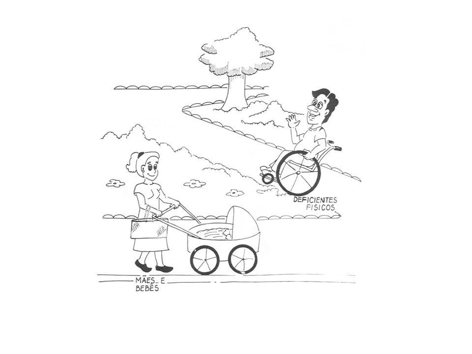 ACESSIBILIDADE Acessibilidade é um processo de transformação do ambiente e de mudança da organização das atividades humanas que diminui o efeito de uma deficiência ( Marcelo Pinto Guimarães, Professor de Arquitetura)