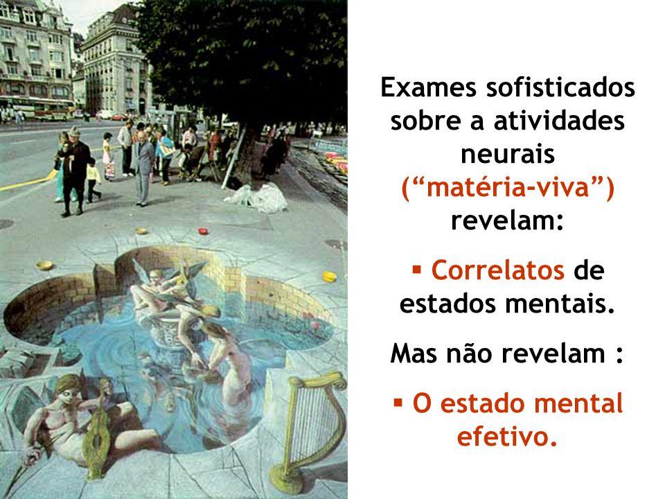 Corpo e Cérebro (público, externo, objetivo) X Mente (privada, interna e subjetiva)