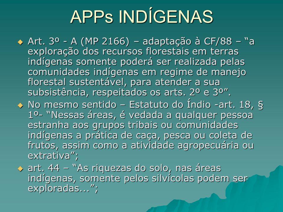 APPs INDÍGENAS Art.