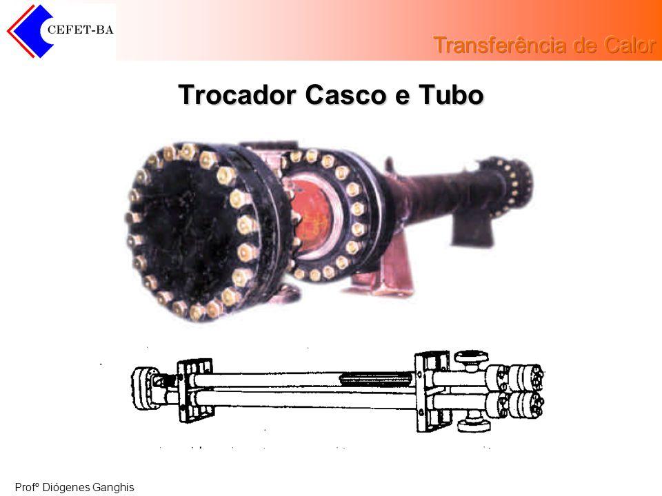 Profº Diógenes Ganghis Trocador Casco e Tubo