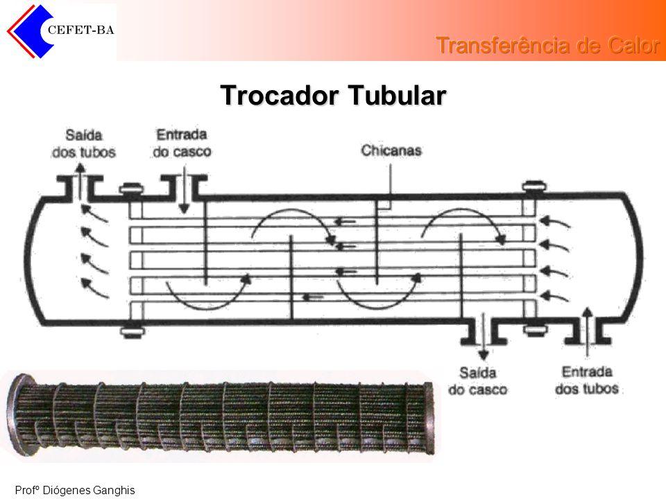 Profº Diógenes Ganghis Trocador Tubular