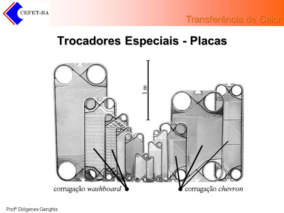Profº Diógenes Ganghis Trocadores Especiais - Placas