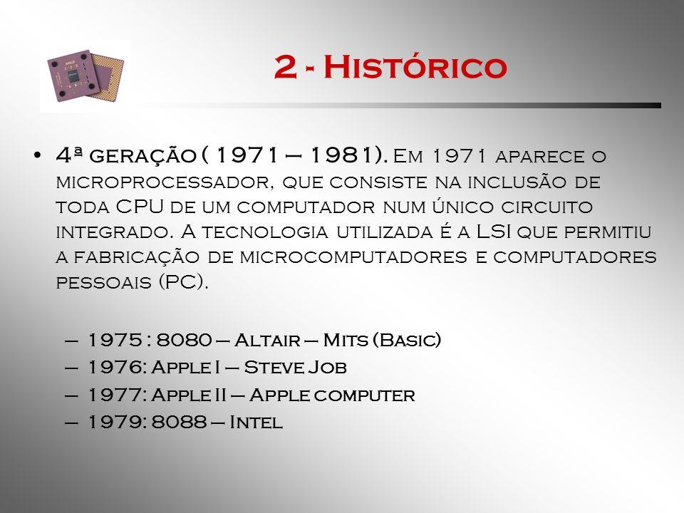 2 - Histórico 5ª geração (1981 - ?).