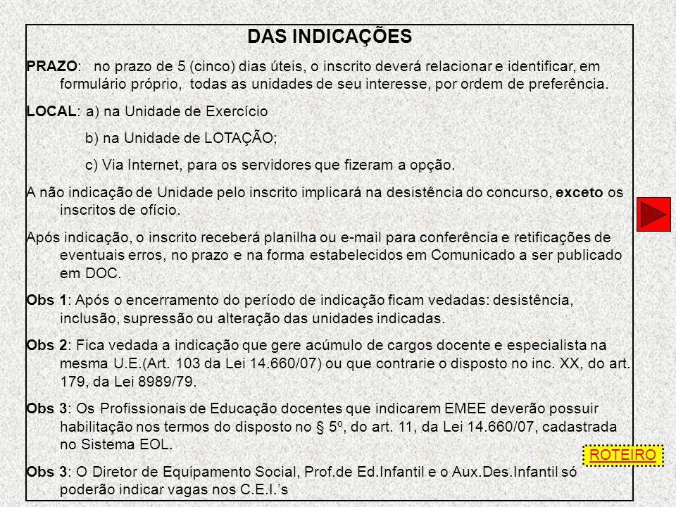VAGAS A SEREM PUBLICADAS EM DOC VAGAS INICIAIS: 1 - São as existentes até a data limite de 05/09/2009, decorrentes de: * Vacância de cargos por aposen