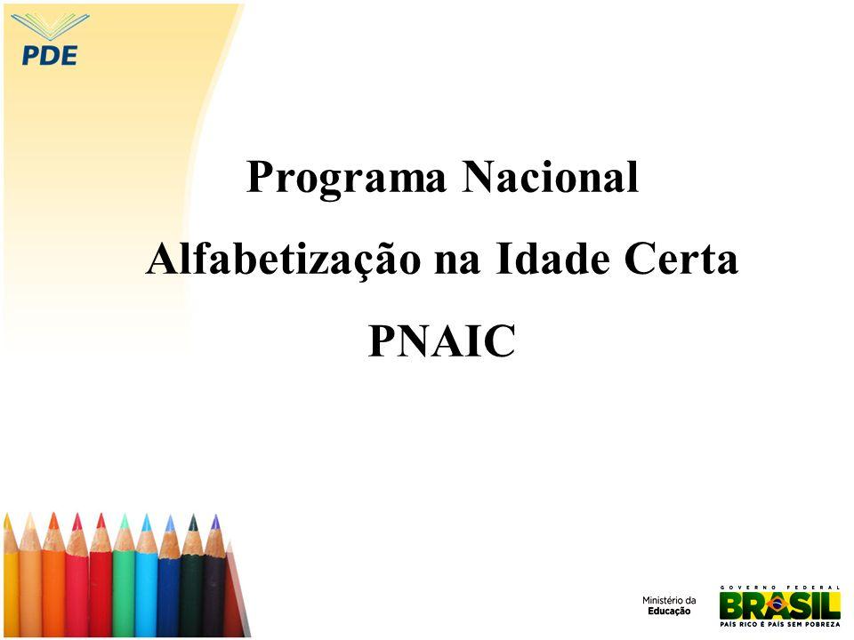 Programa Nacional Alfabetização na Idade Certa PNAIC